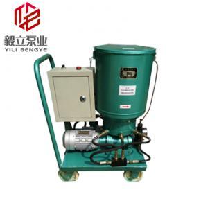 流动车式电动干油泵